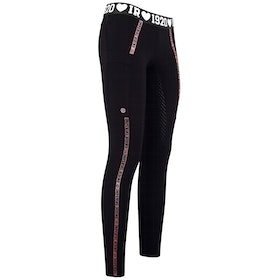 Imperial Riding Royalty Ladies Riding Tights - Black
