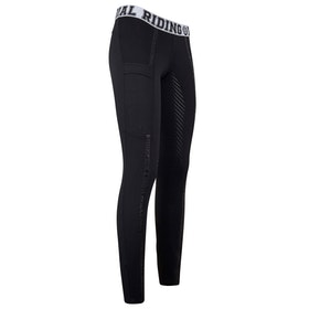 Imperial Riding Royalty Ladies Riding Tights - All Black