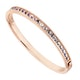Rose Gold Crystal Aurore Boreale
