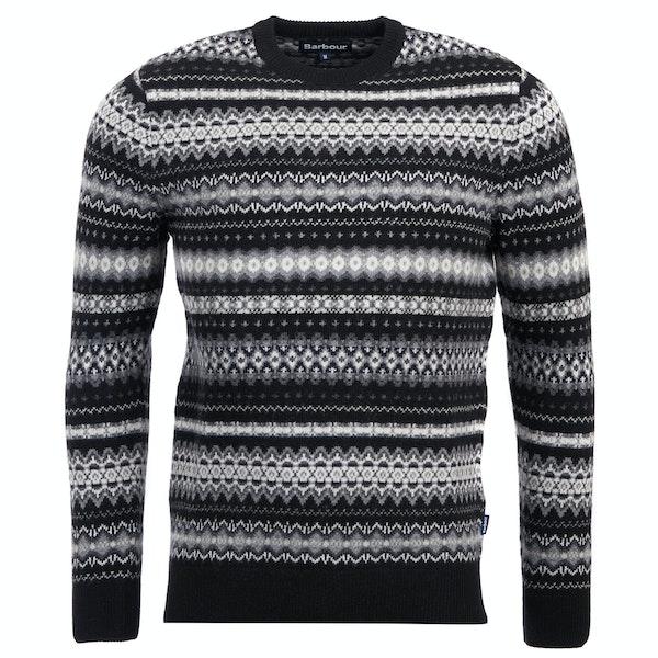 Barbour Case Fairisle Crew Sweater