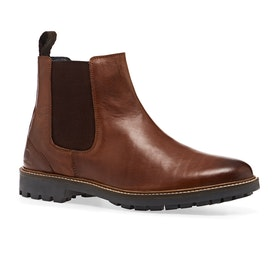 CHATHAM Chirk Boots - Dark Tan