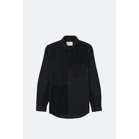 Folk Fraction L S Shirt - Charcoal