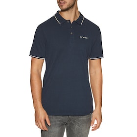 Chemise Polo Animal Pique - Indigo Blue