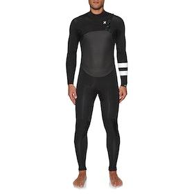 Combinaison de Surf Hurley Advantage Plus 4/3mm Chest Zip - Black