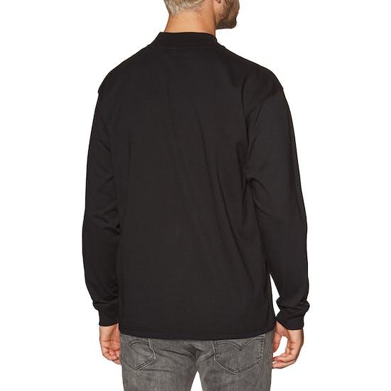 Carhartt Mockneck Script Embro Langarm-T-Shirt