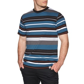 Carhartt Flint Short Sleeve T-Shirt - Prussian Blue
