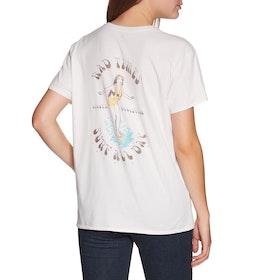 Sisstrevolution Surf All Day Knit Short Sleeve T-Shirt - Vintage White