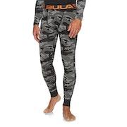 Bula Camo Merino Wool Pant Base Layer Leggings