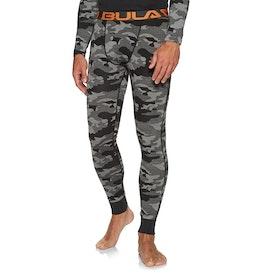 Bula Camo Merino Wool Pant Base Layer Leggings - Greym