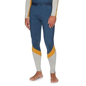 Bula Retro Wool Pants Base Layer Leggings - Denim