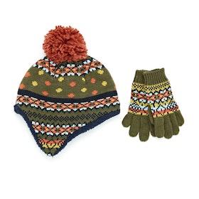 Chapeau White Stuff Freddy Fairisle Gloves and - Multi