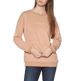 Rhythm Yosemite Pullover Womens Sweater - Coral