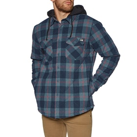 Salty Crew Dock Flannel Jacket - Blue