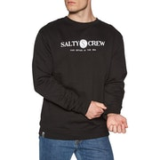 Salty Crew Railed Crew Fleece Sweater