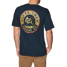 Salty Crew Streamer Short Sleeve T-Shirt - Navy