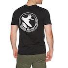 SNSC Surfers Not Street Children Logo Short Sleeve T-Shirt