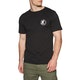 SNSC Surfers Not Street Children Logo Short Sleeve T-Shirt