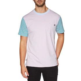 Enjoi Tight Stripe Short Sleeve T-Shirt - Pastel