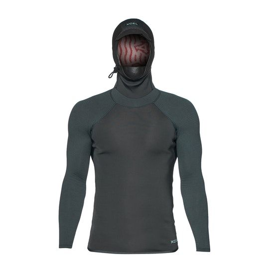 Xcel Infiniti 1mm Long Sleeve Hooded Thermal , Rashguard