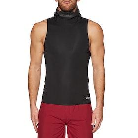 Xcel Infinity 1mm Sleeveless Hooded Thermal Rash Vest - Black