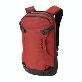 Dakine Heli Pack 12L Snow Backpack - Tandoori Spice