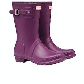 Stivali di Gomma Donna Hunter Original Short - Violet