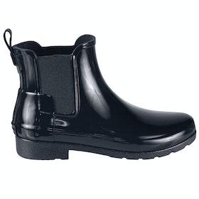 Stivali di Gomma Donna Hunter Original Refined Chelsea - Navy