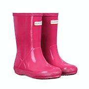 Hunter Original First Gloss Kid's Wellington Boots