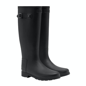 Hunter Original Refined Ladies Wellington Boots - Monotone Black