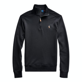 Polo Ralph Lauren Half-Zip Pullover Knits - Polo Black
