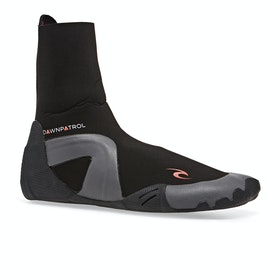 Rip Curl Dawn Patrol 3mm Round Toe Wetsuit Boots - Black