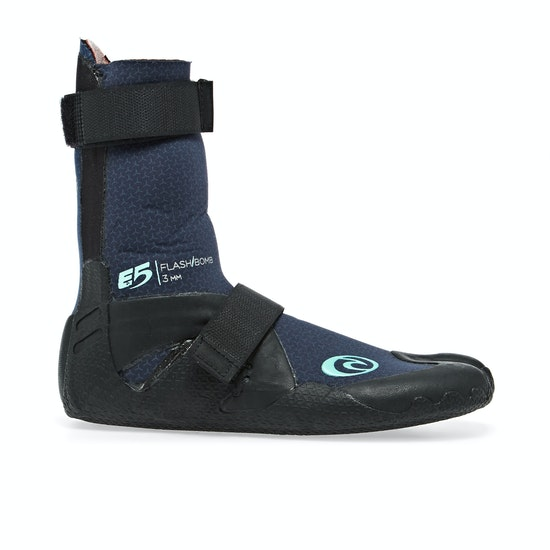 Rip Curl Flashbomb 3mm Hidden Split Toe Womens Wetsuit Boots
