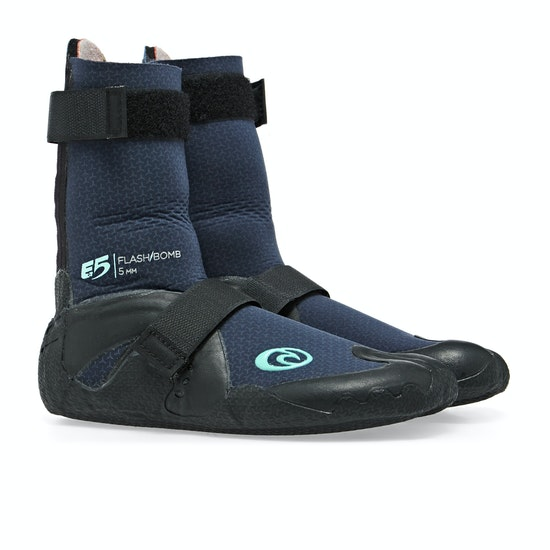 Rip Curl Flashbomb 5mm Hidden Split Toe Womens Wetsuit Boots