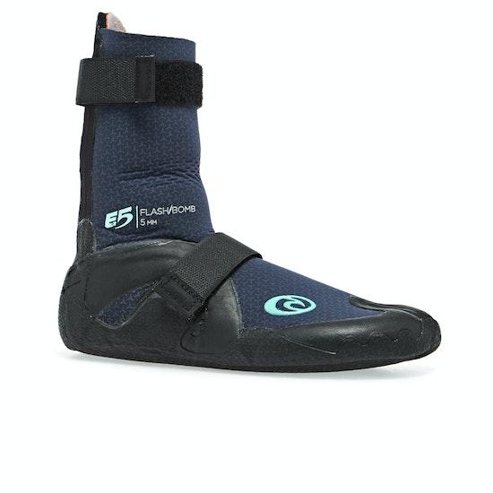 Rip Curl Flashbomb 5mm Hidden Split Toe Ladies Wetsuit Boots