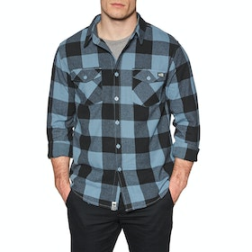 Salty Crew Buffer Flannel Shirt - Blue