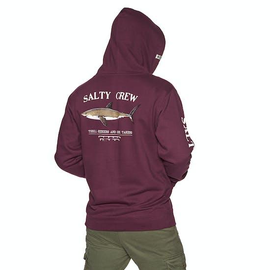 Salty Crew Bruce Hood Fleece Pullover Hoody