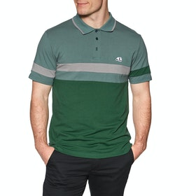 Chemise Polo Enjoi Big Block SS - Olive