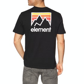 T-Shirt à Manche Courte Element Joint 2019 - Flint Black