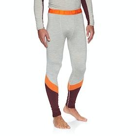 Bula Retro Wool Pants Base Layer Leggings - Greym