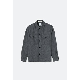 Blusão Norse Projects Kyle Wool - Charcoal Melange