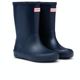 Hunter First Classic Kinder Gummistiefel - Navy