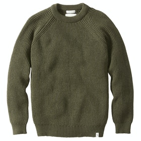 Peregrine Made In England Ford Crew , Genser - Olive