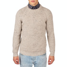 Peregrine Made In England Ford Crew , Genser - Oatmeal