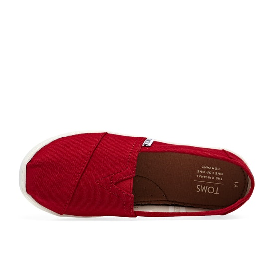 Toms Classic Youth Kids Slip On Shoes