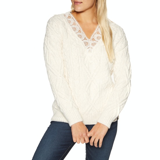Superdry Lannah Vee Cable Knit Womens Sweater