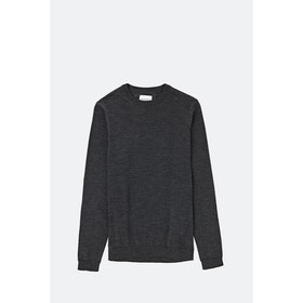 Maglione Norse Projects Sigfred Light Merino - Charcoal Melange