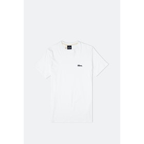 Bleu de Paname Mc Badge Bleu S S T-Shirt - Blanc