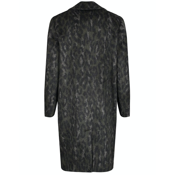 Ted Baker Illena Leopard Print Cocoon Dames Jas