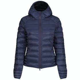 Canada Goose Brookvale Hooded Slim Fit Womens Bunda - Blue Black