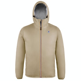 K-Way Le Vrai 3.0 Claude Orsetto Waterproof Jacket - Beige Sabbia